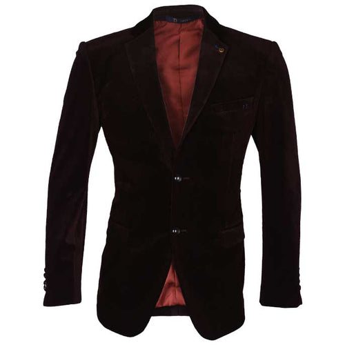 Regular Mens Blazer In SKU: CA3854-D-Purple