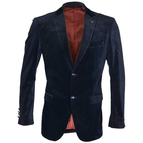 Regular Mens Blazer In SKU: CA3854-N-BLUE