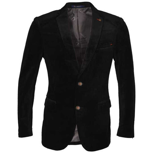 Regular Mens Blazer In SKU: CA3860-BLACK