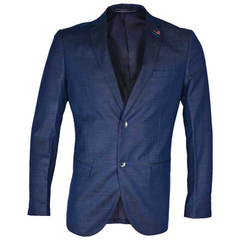 Regular Mens Blazer In SKU: CA3890-BLUE