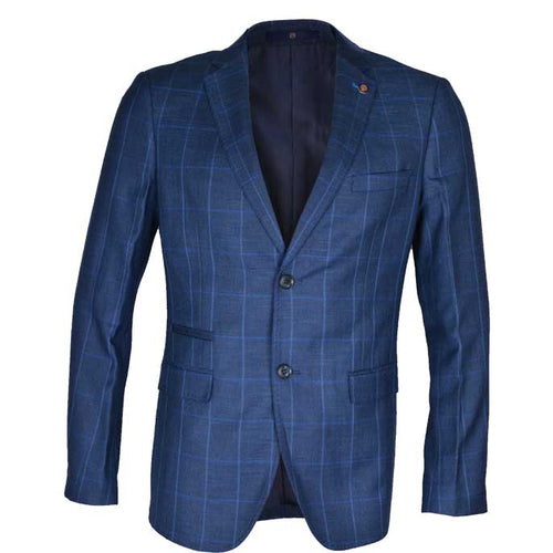 Regular Mens Blazer In SKU: CA3891-R-BLUE