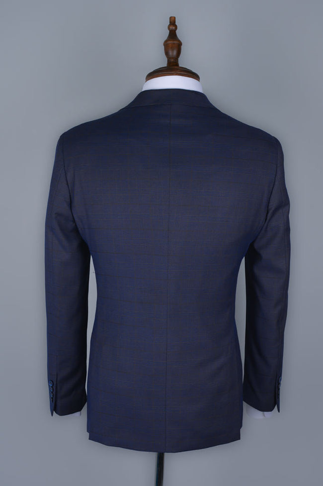 Regular Mens Blazer SKU: CA3900-Royal-Blue
