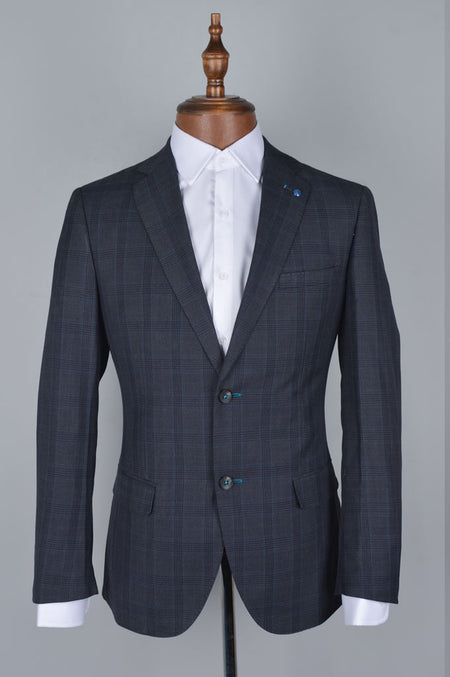 Formal Men Shirt in L-Grey SKU: AB19549-L-Grey