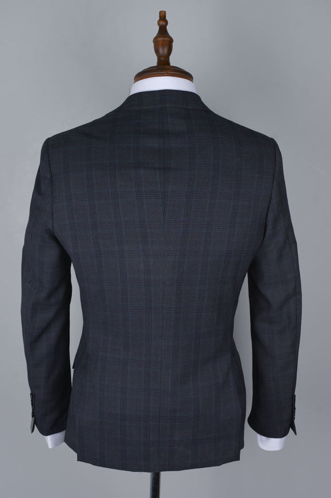 Regular Mens Blazer SKU: CA3904-Dark Grey