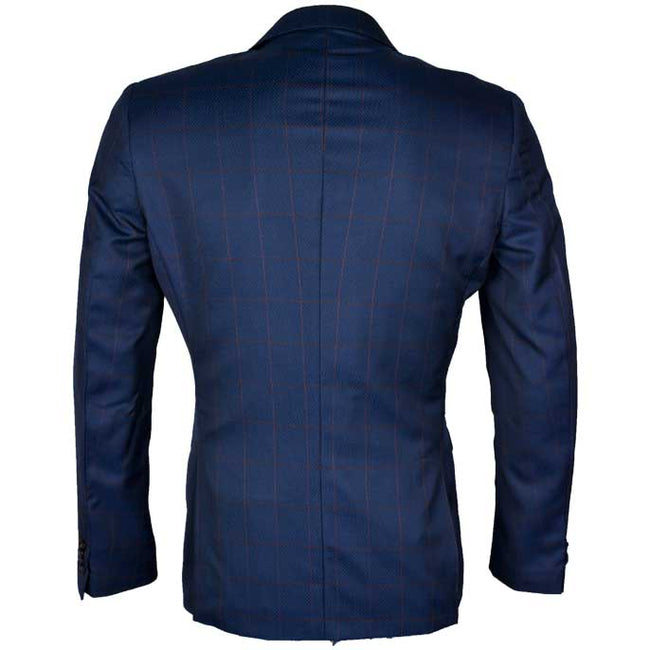 Regular Mens Blazer In SKU: CG3887-R-BLUE