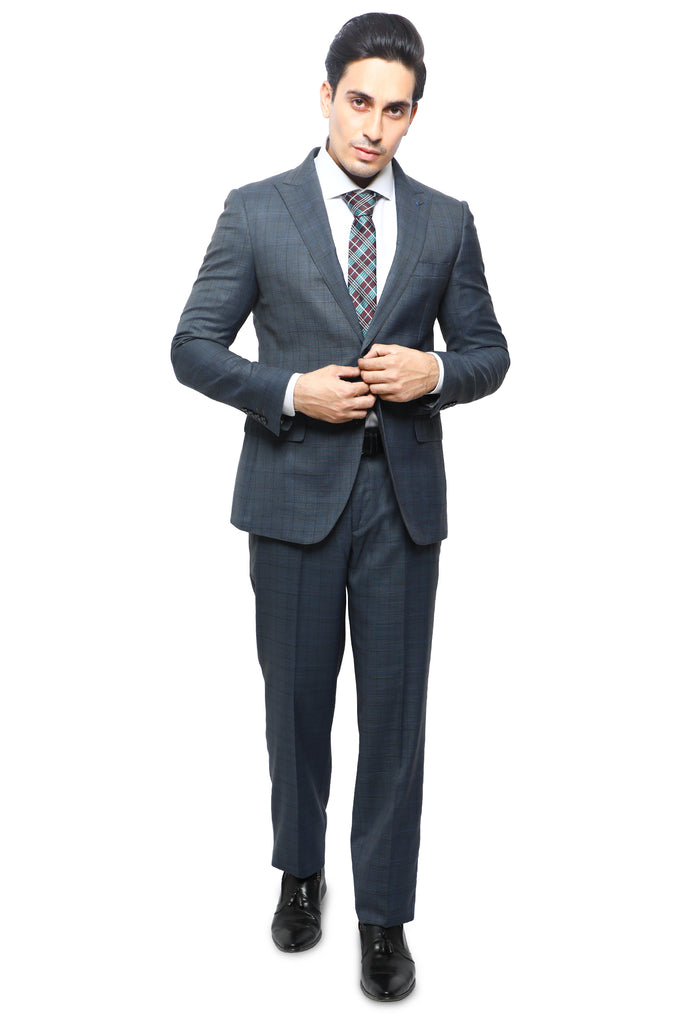 Diner's 2 Pcs Suit in Grey SKU: DA1139-GREY