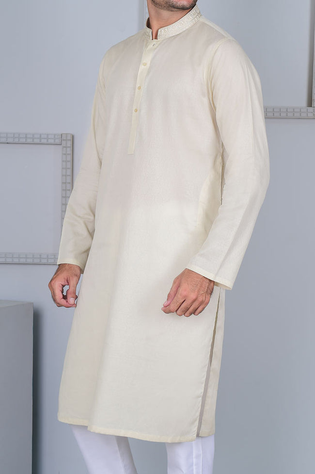 Formal Kurta In Fawn SKU: EA2456