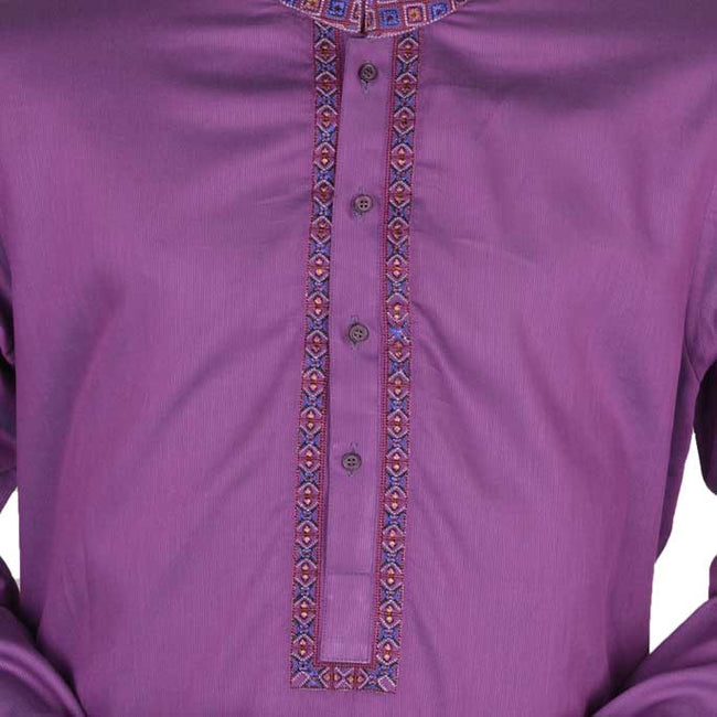 Kurta in GREEN SKU: EA2138-PURPLE