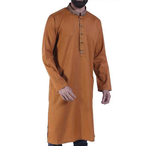 Formal Kurta In Rust SKU: EA2332-Rust