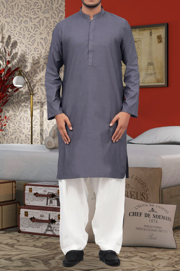 Kurta in D-Grey SKU: EA2410-D-GREY