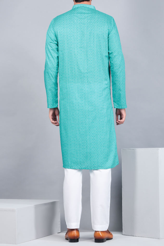 Formal Kurta In Turquo SKU: EA2582-TURQUOISE - Diners