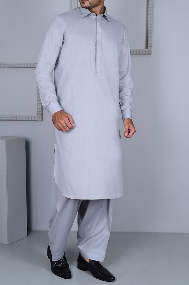 Formal Shalwar Suit for Men EG2623-GREY