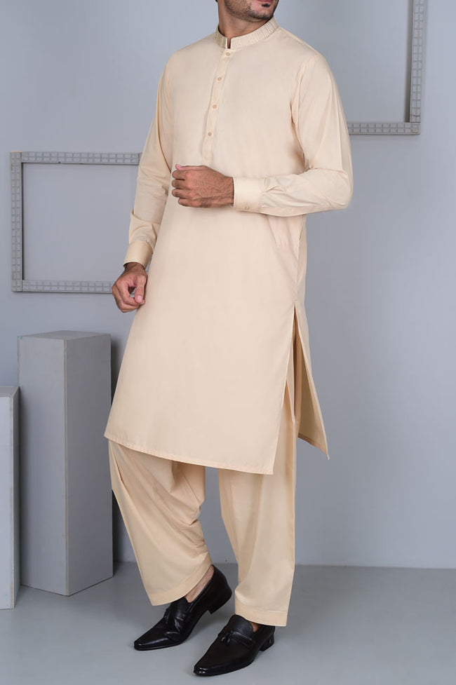 Formal Shalwar Suit for Men EG2627-FAWN