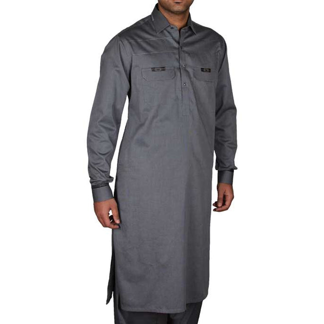 Formal Shalwar Suit for Men EG2092-GREY