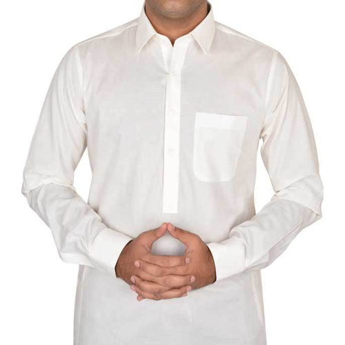 Semi Formal Shalwar Suit In Off-White SKU: EG2140-OFFWHITE