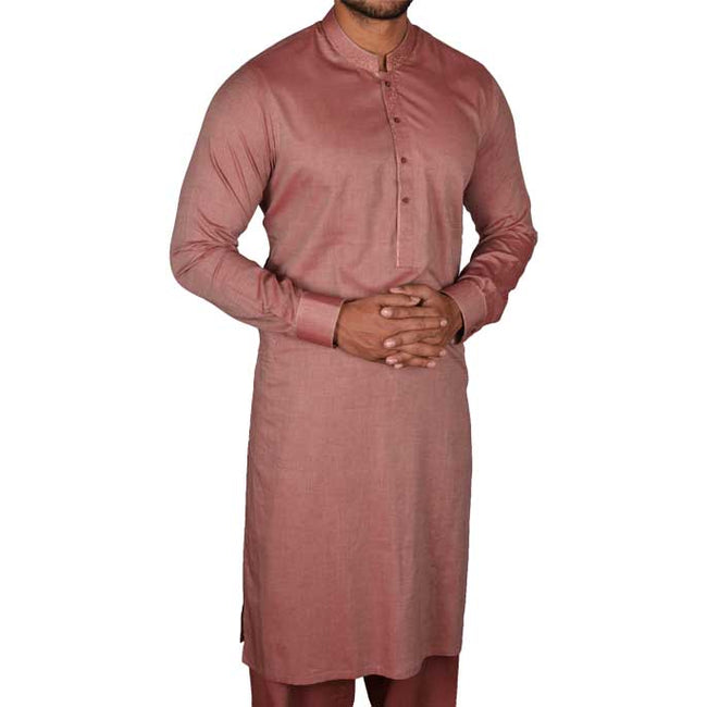 Formal Shalwar Suit for Men (EG2167-MAROON)
