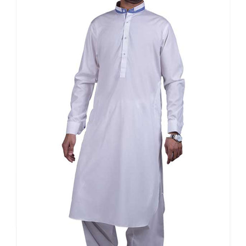 Formal Shalwar Suit for Men (EG2316-WHITE)