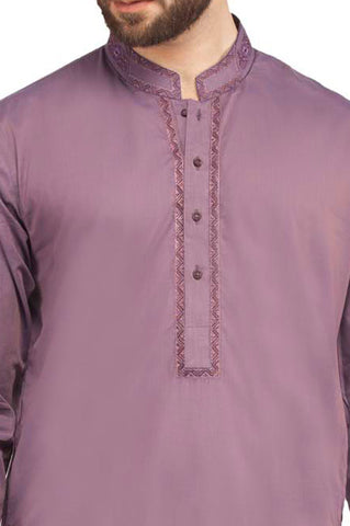 Formal Shalwar Suit In Purple SKU: EG2321-PURPLE