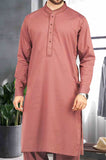 Formal Shalwar Suit In Rust SKU: EG2321-Rust