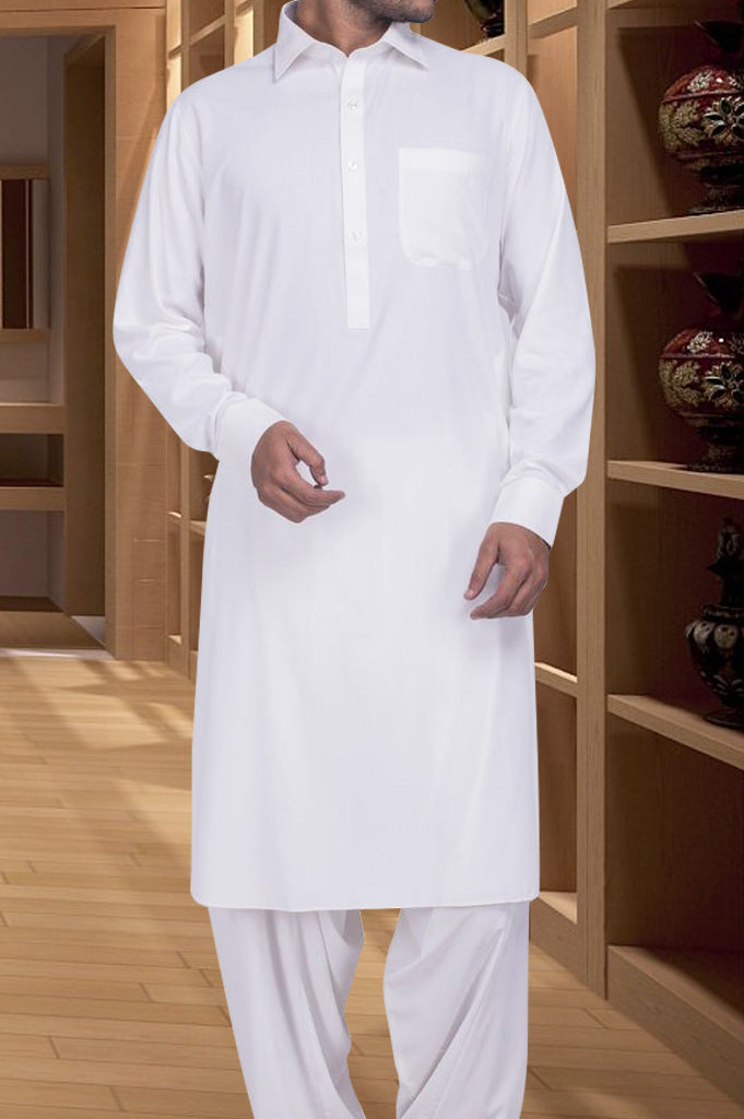 Formal Shalwar Suit for Men (EG2329-Off White)