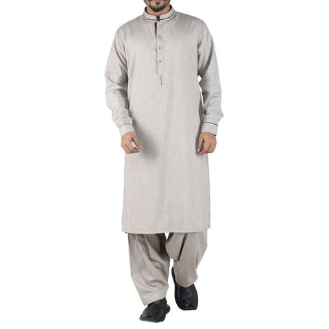 Formal Shalwar Suit In Beidge SKU: EG2352-BEIDGE
