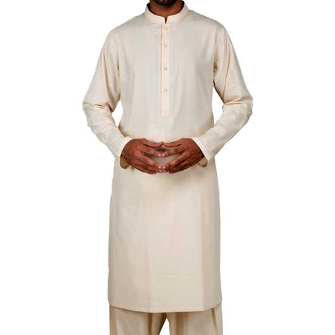 Formal Shalwar Suit for Men (EG2368-L-FAWN)
