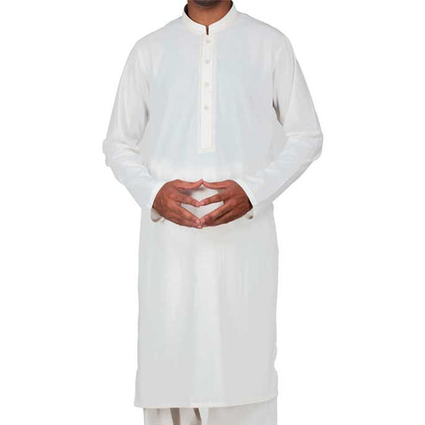 Formal Shalwar Suit for Men (EG2368-OFFWHITE)