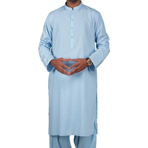 Formal Shalwar Suit for Men (EG2368-SKY-BLUE)