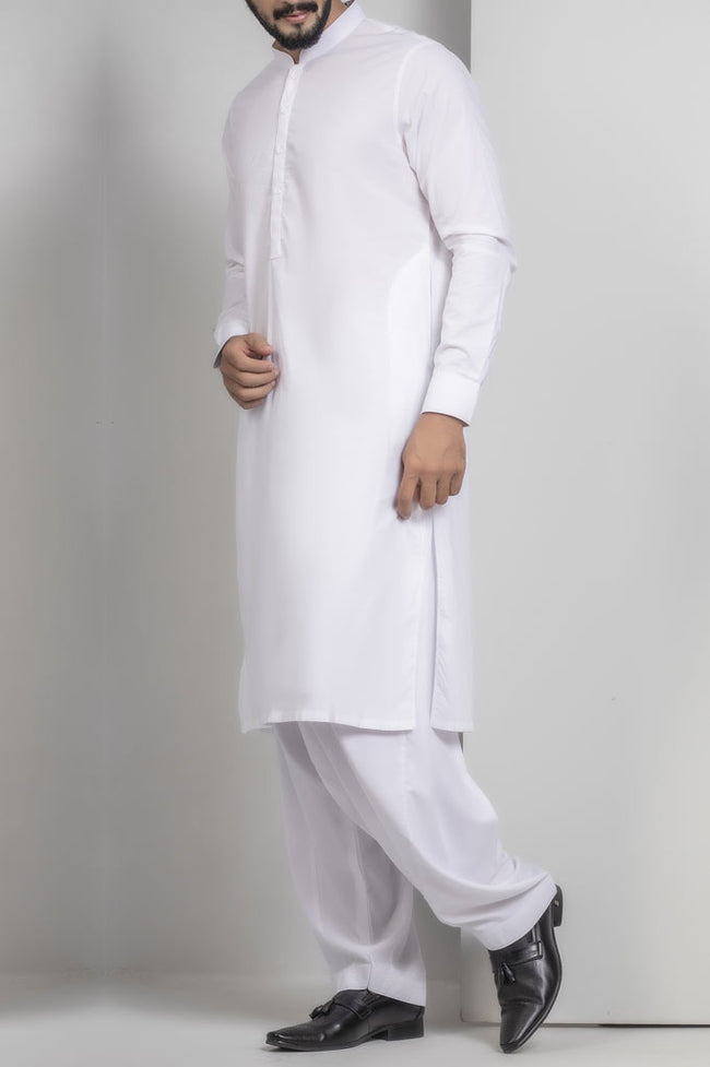 Formal Shalwar Suit for Men SKU: EG2401-Off White