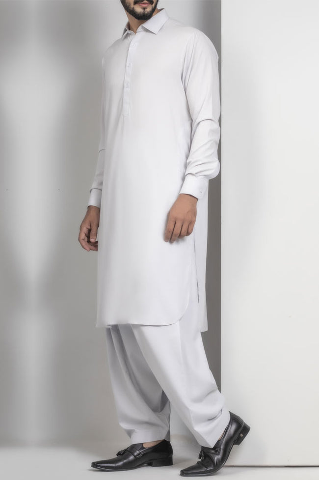 Formal Shalwar Suit for Men SKU: EG2406-L-Grey