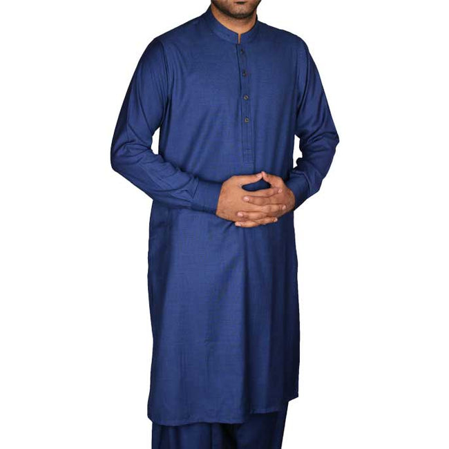 Formal Shalwar Suit for Men SKU: EG2497-R-BLUE