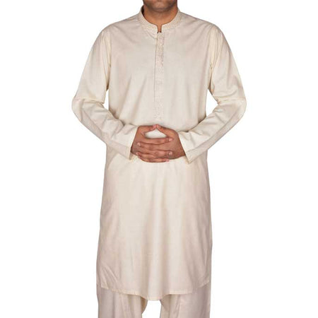 Formal Shalwar Suit In White SKU: EG2371-WHITE