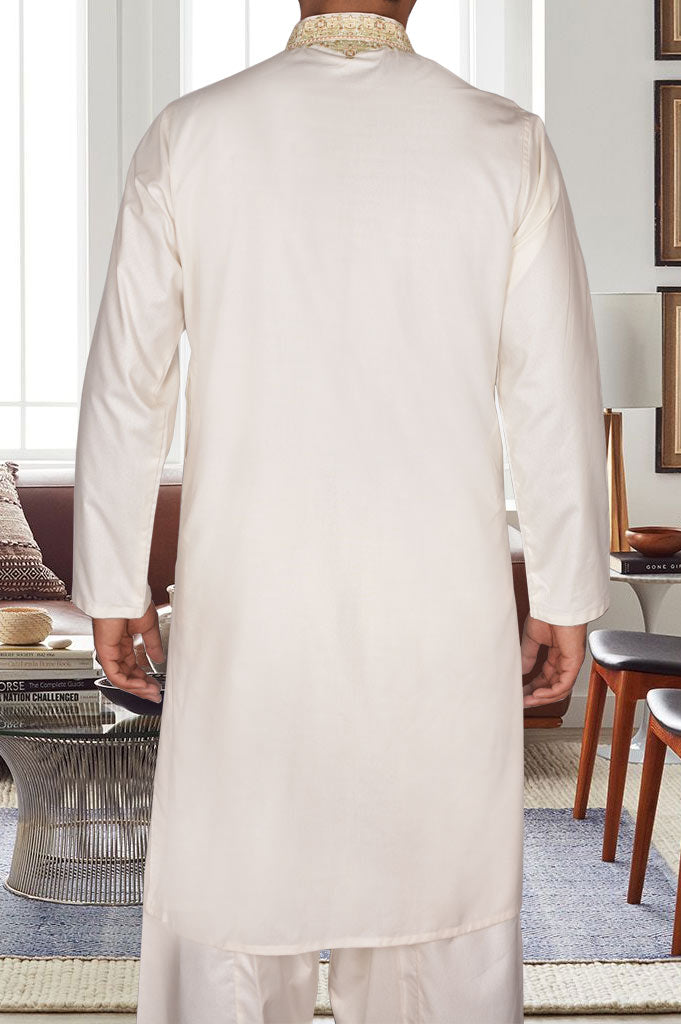 Formal Shalwar Suit for Men (EG2511-OFF WHITE)