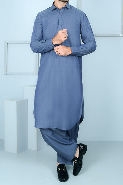 Formal Shalwar Suit for Men (EG2545-GREY)