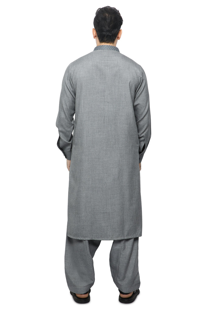 Formal Shalwar Suit for Men SKU: EG2841-GREY - Diners