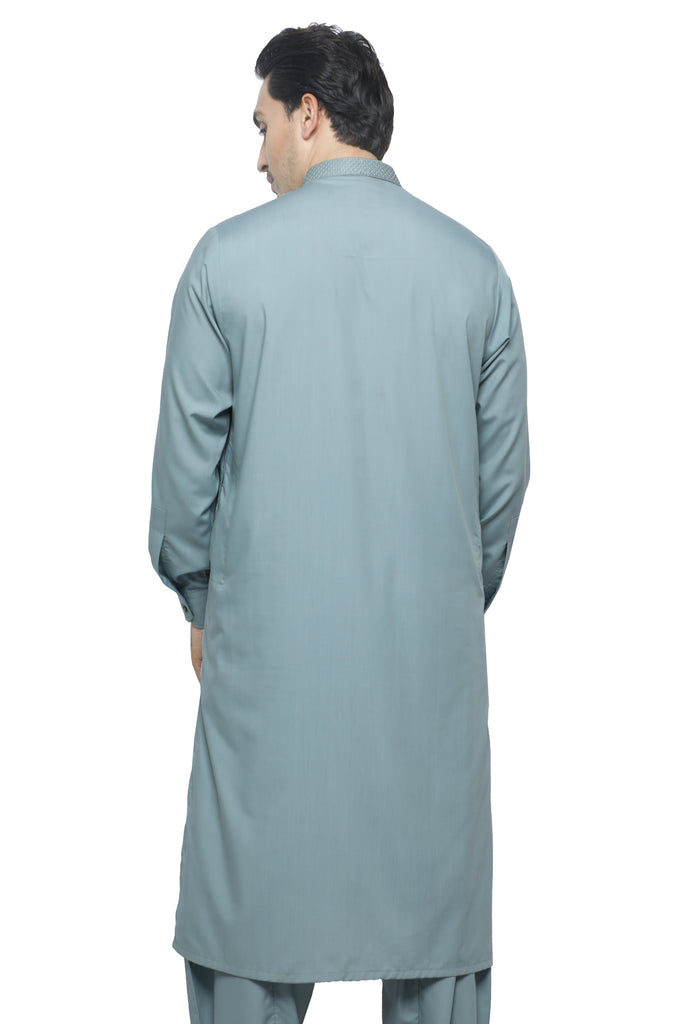 Formal Shalwar Suit for Men SKU: EG2880-L-GREEN - Diners