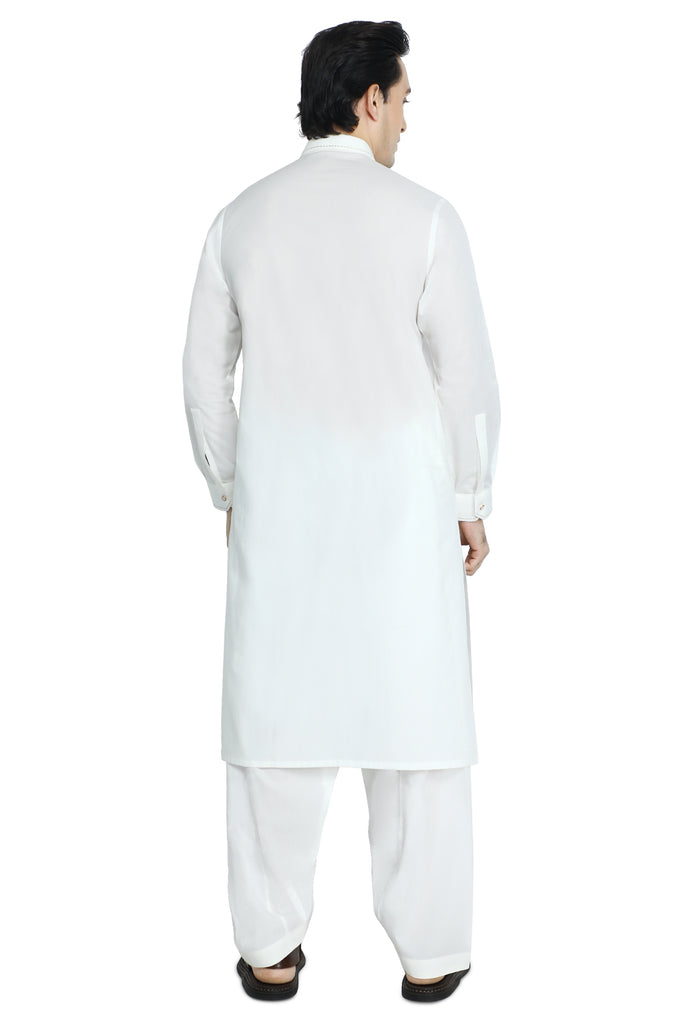Formal Shalwar Suit for Men SKU: EG2894-OFFWHITE - Diners