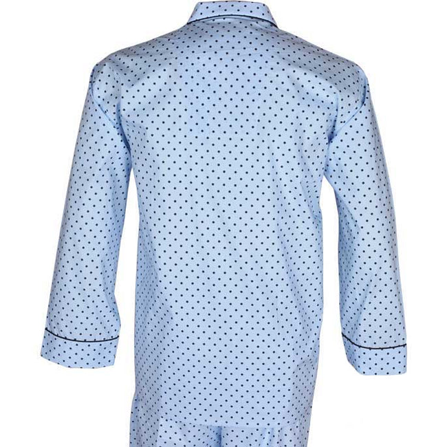 Diner's Night Suit In L-Blue SKU: FAB0465-L-BLUE