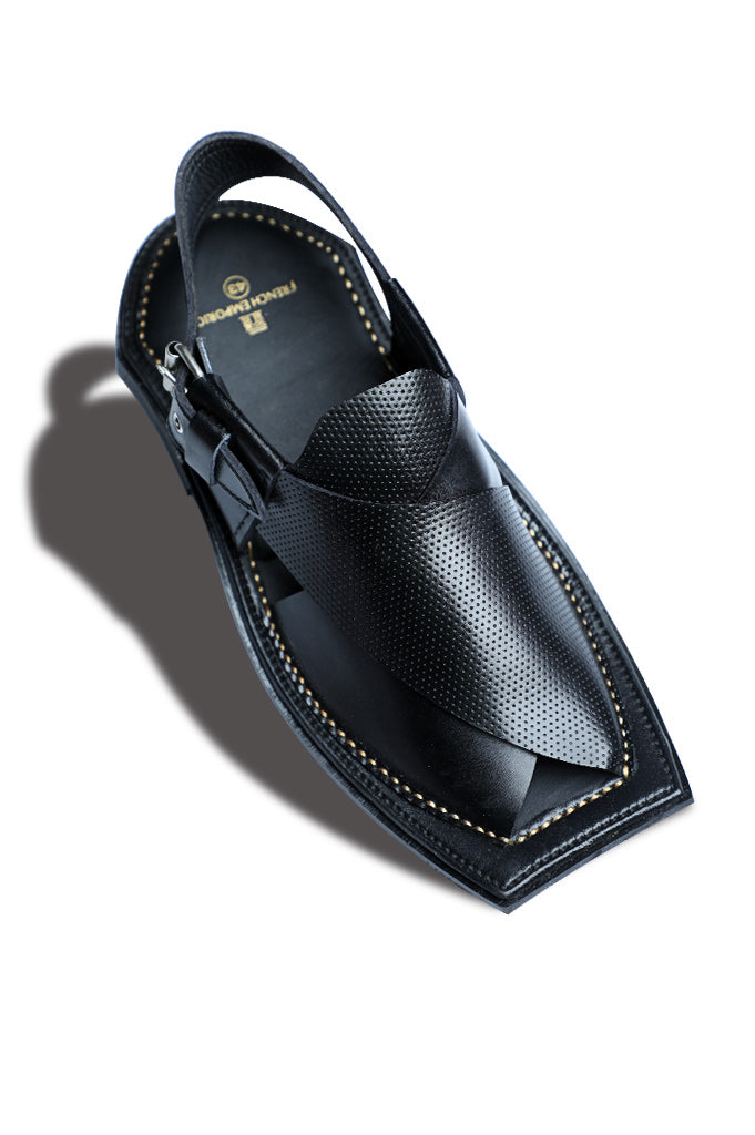 French Emporio Man Sandal SKU: PSLD0011-Black - Diners