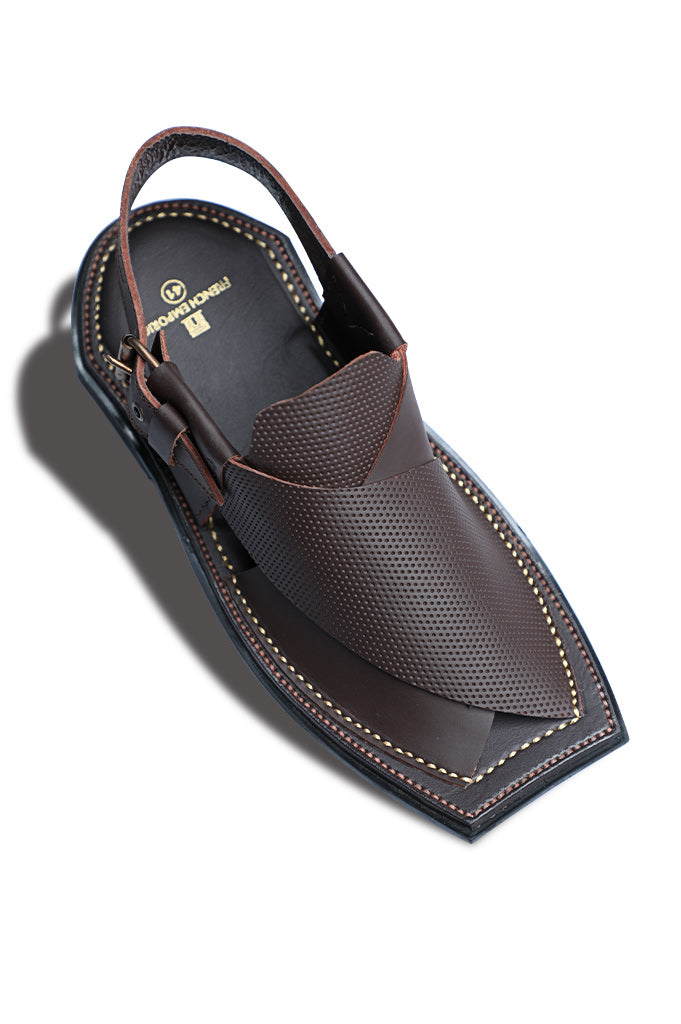French Emporio Man Sandal SKU: PSLD0011-Brown - Diners