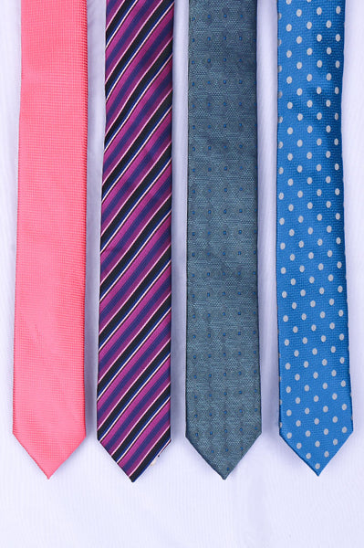 Diner's Tie Pack of Four MIXCOLOR SKU: HA-4034-P-29