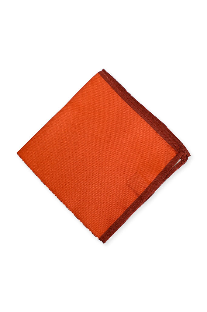 Diner's Pocket Squares (Four Sided) SKU: HK0007-D-Brown