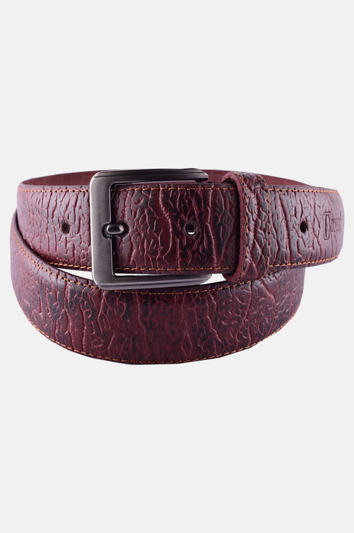 Men's Belt In Mustard SKU: IB29-Mustard
