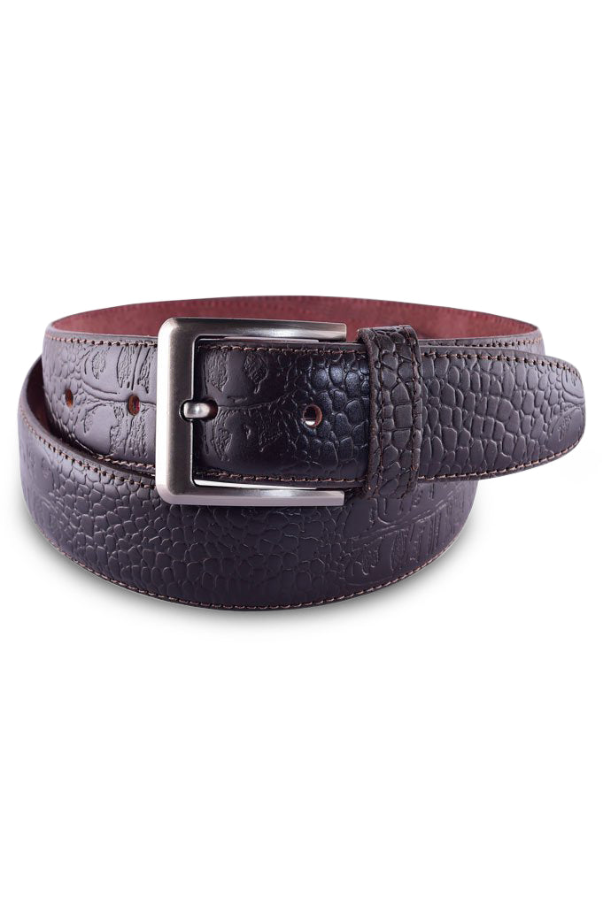 Men's Belt In D-Brown SKU: IB28-D-Brown - Diners
