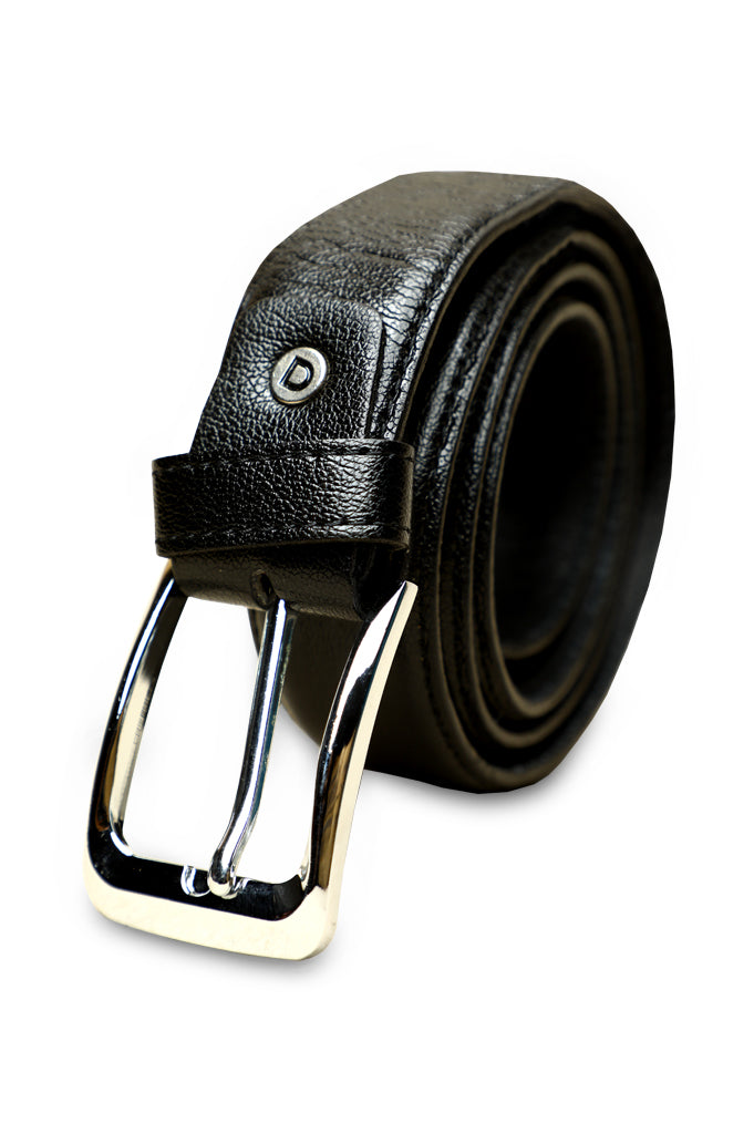 Men's Belt In Black SKU: IB65-BLACK - Diners