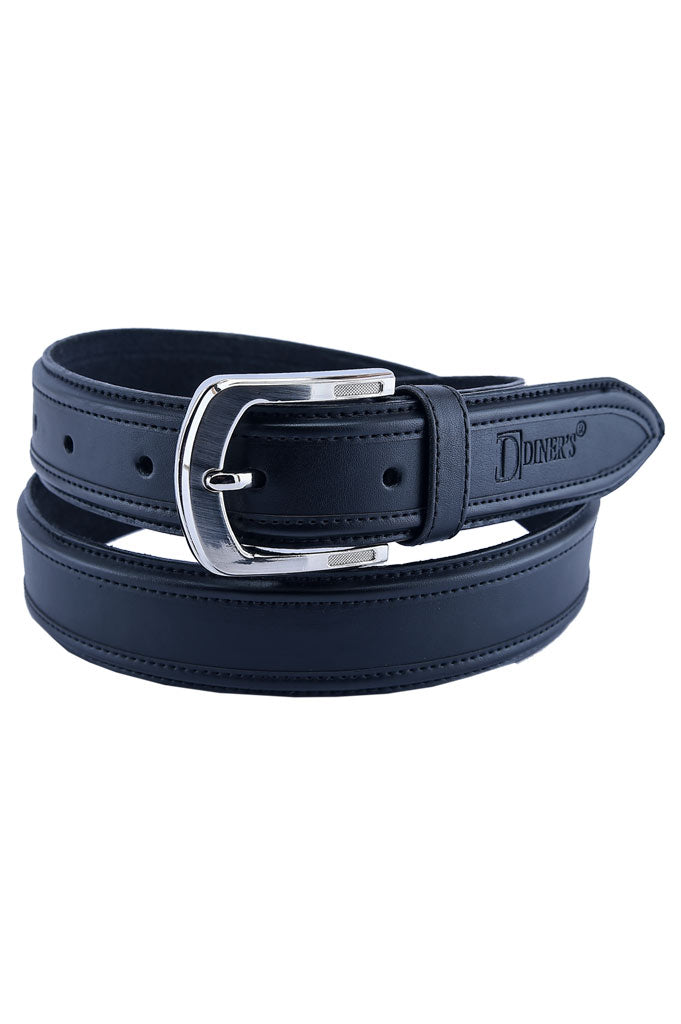 Men's Belt In Black SKU: IB75-BLACK - Diners