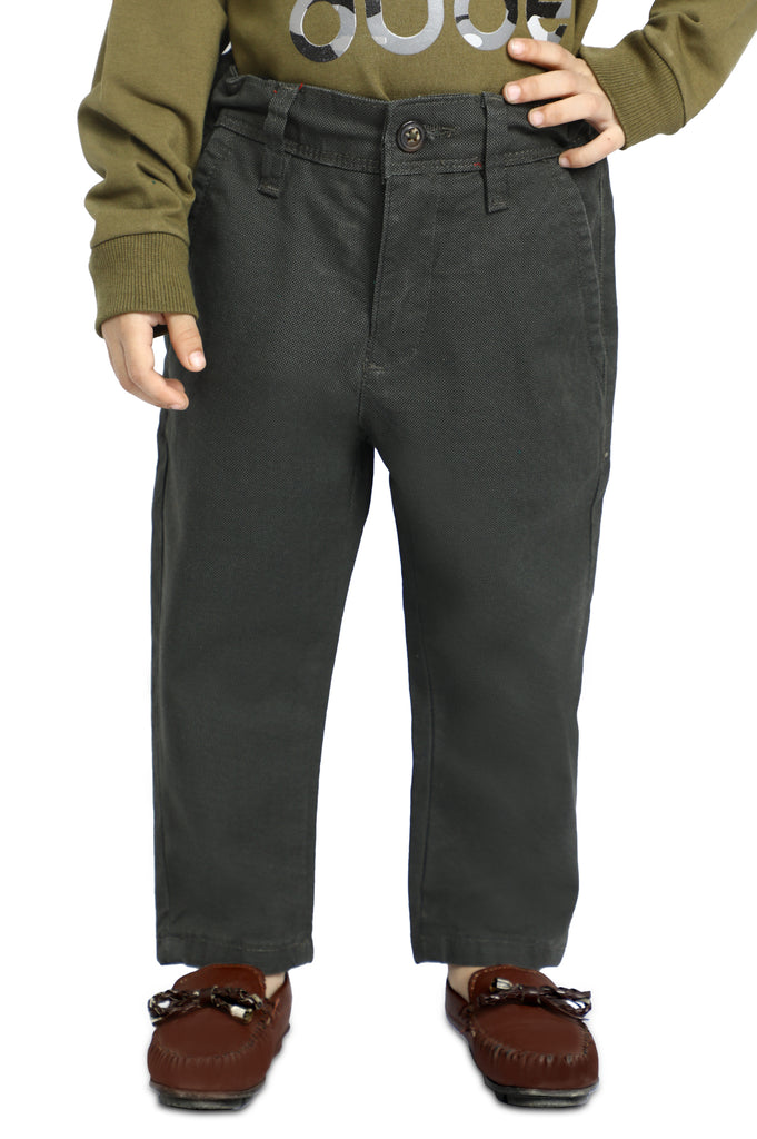 Boys Toddler Trouser In D-Green SKU: IBC-0011-D-GREEN - Diners