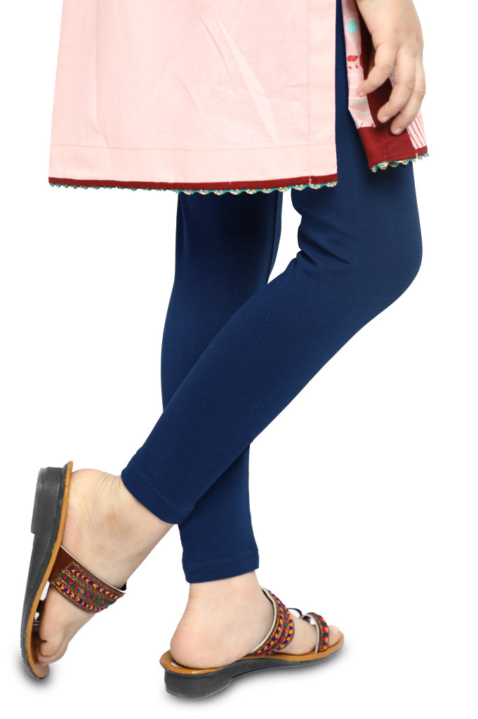 Tights For Toddler Girls In Navy SKU: IGT-0001-NAVY - Diners
