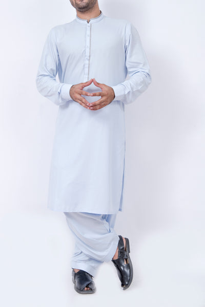 Formal Shalwar Suit for Men (EG2400-SKY BLUE)