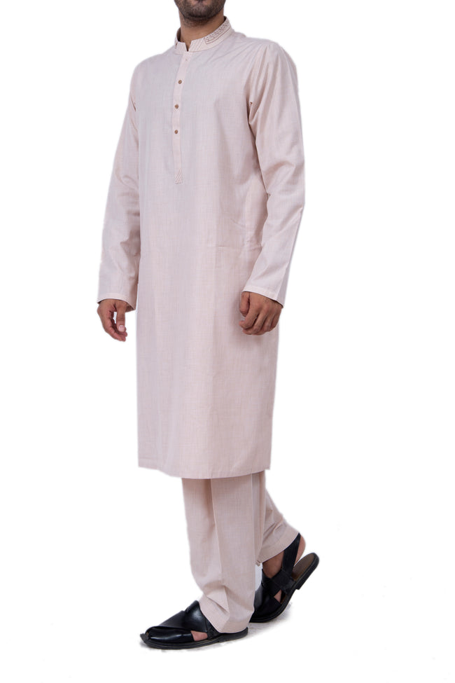 Formal Shalwar Suit for Men (EG2421-L-FAWN)